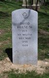 David Hulse, Sr. gravestone