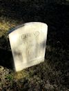 #021.014.Brown05:  Lucy, wife of George Ruland, gravestone