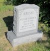 #021.019.Hawkins08:  William Vernon Kresse, Sr. gravestone
