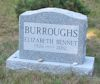 #021.025.Bennet04:  Elizabeth Bennet Buroughs monument.