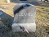#021.013.Cleaves00:  Cleaves family plot monument.