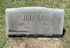 #021.024.Gillespie04:  Edith and Edward Gillespie gravestone.