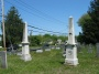 #003.King00.  Monuments for Rev. Ezra King and his son Thomas King.
