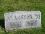 #028.Carman — Joseph H. and Gratia H. gravestone