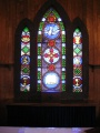 Examples of Malcolm Fraser's work at St. James Episcopal Church, Brookhaven, NY