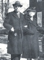 Eugene Hawkins and wife Emma Snyder Hawkins