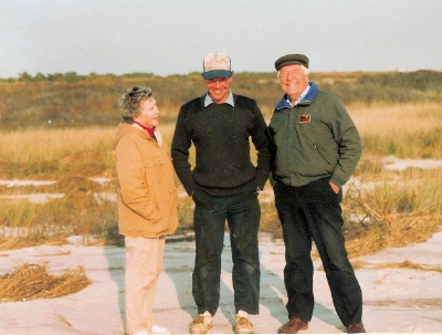 Helen, Bill and Bob Stark at Old Inlet Club 1991